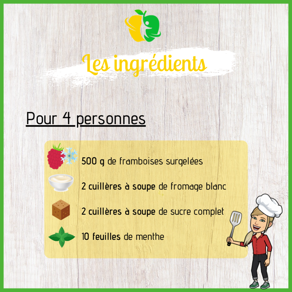 recette glace framboise