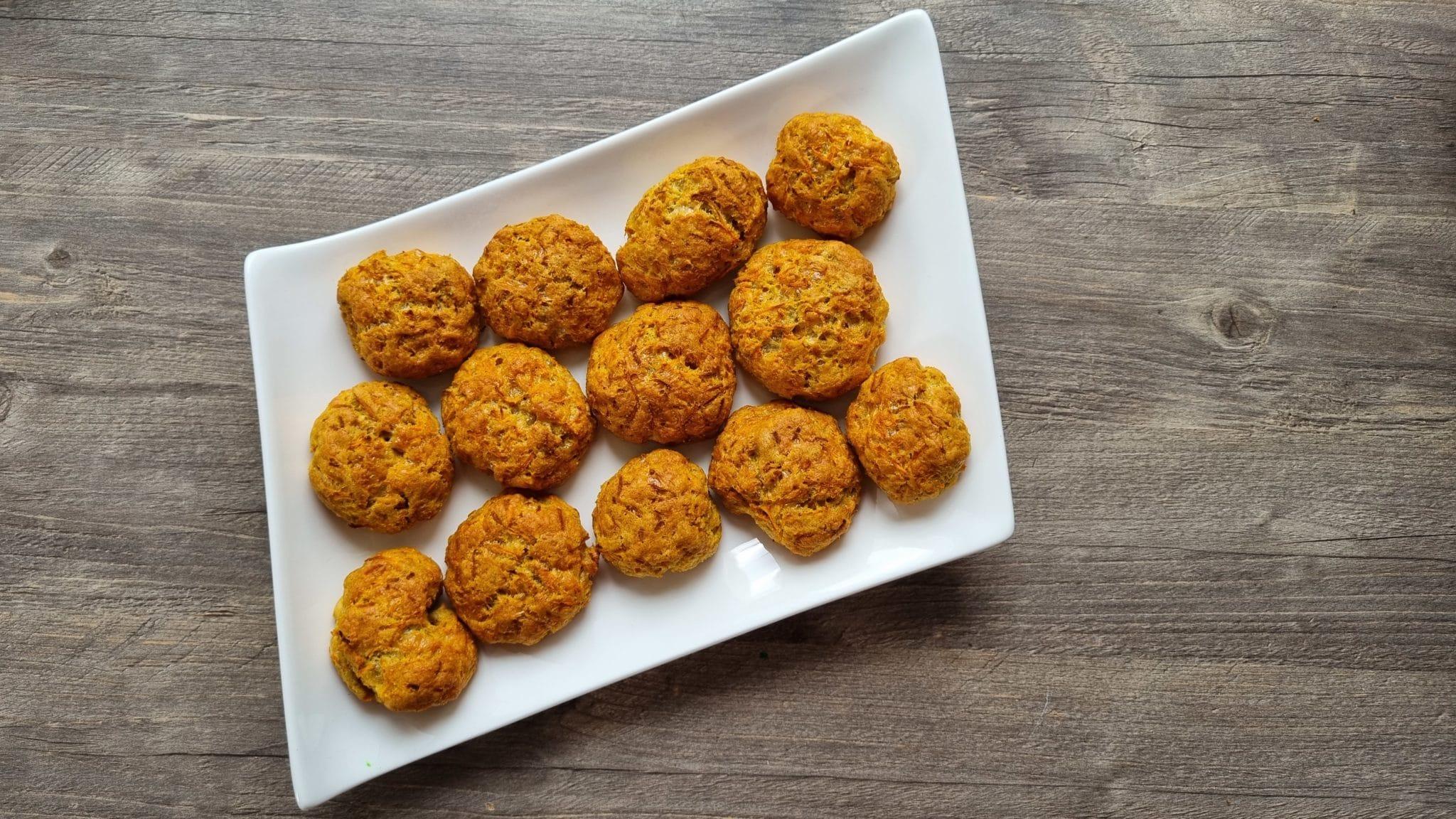 minis cookies carotte emmental
